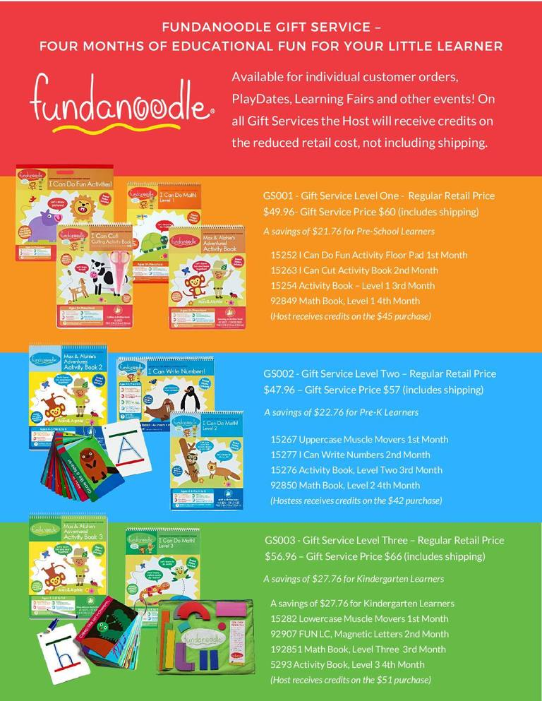 Fundanoodle Favorites